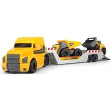 Детски комплект Dickie Toys - Камион с два автомобила -1