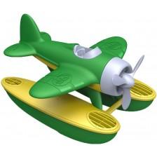 Детска играчка Green Toys - Морски самолет, зелен -1