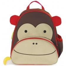 Раница за детска градина Skip Hop Zoo – Маймунката Маршал -1