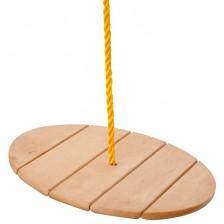 Детска дървена люлка Woody - Маймунка -1
