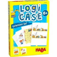 Детски карти за игра Haba Logicase - Строителна площадка -1