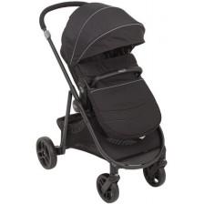 Детска комбинирана количка 2 в 1 Graco - Transform, Black -1