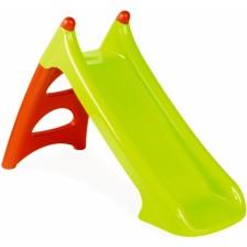 Детска пързалка Smoby, зелено и червено -1