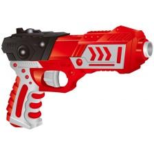 Детски пистолет Red Guns - Pro, с 6 меки стрели -1