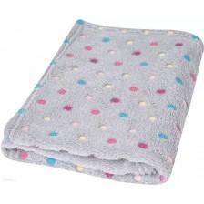 Детско одеяло Baby Matex - Milly, K42, точки -1
