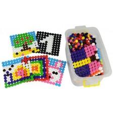 Детска мозайка Bigjigs - В кутия, 4052 части -1
