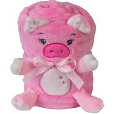 Детско одеяло Baby Matex - Willy, Прасенце -1