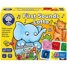 Детска образователна игра Orchard Toys - Лото първи звуци -1