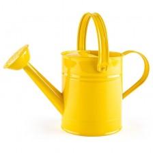 Детска метална лейка Woody - Жълта -1