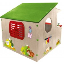 Детска къща с кухня Mochtoys -1