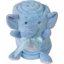 Детско одеяло Baby Matex - Willy, Слонче -1