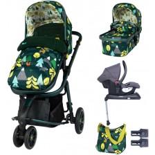 Детска количка с аксесоари Cosatto Giggle 3 - Into the wild -1