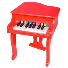 Детско дървено пиано Classic World Детски - Роял, червен -1