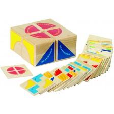 Детска образователна игра-пъзел Goki - Кубус -1