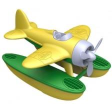 Детска играчка Green Toys - Морски самолет, жълт -1