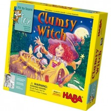 Детска игра Haba - Разсеяна вещица -1