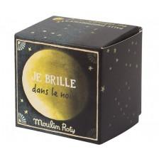 Детска играчка Moulin Roty - Светеща в тъмното скачаща топка -1