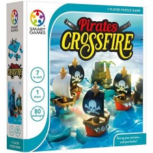 Детска логическа игра Smart Games - Pirates Crossfire -1