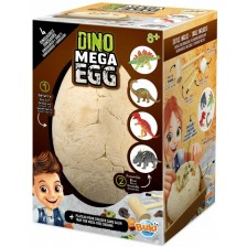 Детска играчка Buki France - Мега яйце, Динозаври -1