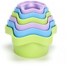 Детска играчка за сортиране Green Toys, с 6 чашки -1