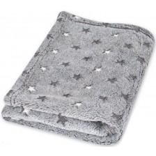 Детско одеяло Baby Matex - Milly, G44, сиво -1