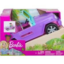 Игрален комплект Mattel Barbie - Летен джип,без покрив -1