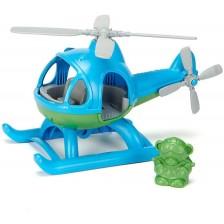 Детска играчка Green Toys - Хеликоптер, син -1