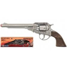 Детска играчка Gonher - Каубойски револвер с капси -1