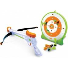 Детска играчка Buki France - Арбалет с мишена -1