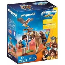 Детски конструктор Playmobil - Марла с кон -1