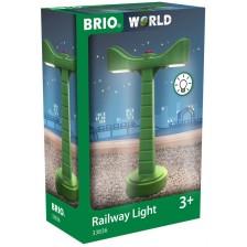 Дестка играчка Brio - Осветление за железопътно трасе -1