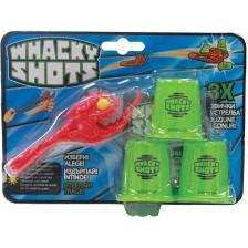 Детска играчка Yulu Whacky Shots - Чудовище, асортимент -1