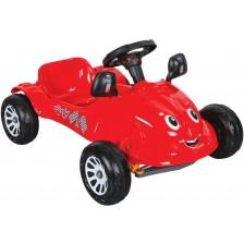 Детска кола с педали Pilsan - Herby, червена -1