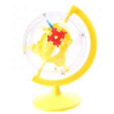 Главоблъсканица Johntoy - Лабиринт Глобус, Жълт -1