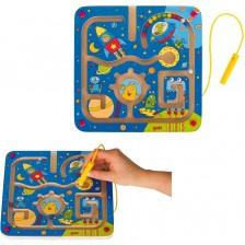 Детска магнитна игра лабиринт Goki - Космос -1