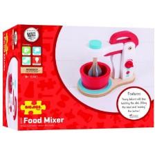 Детски дървен миксер Bigjigs - Food Mixer -1