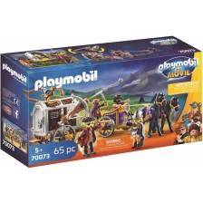 Детски конструктор Playmobil - Чарли със затворническия вагон -1