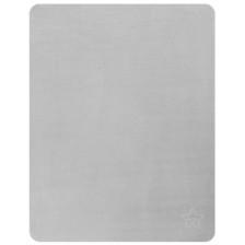 Одеяло от полар Lorelli - Звезда, 75 x 100 cm, сиво -1