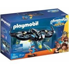 Детски конструктор Playmobil - Роботитрон с дрон -1