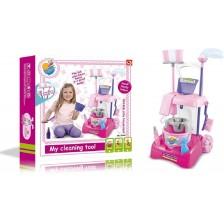 Детска количка за почистване Ocie - My Cleaning Tool, асортимент -1