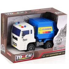 Детска играчка Ocie The Feel of Real - Камион за боклук, звук и светлина -1