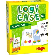 Детска логическа игра Haba Logicase - Стартов комплект, вид 2 -1
