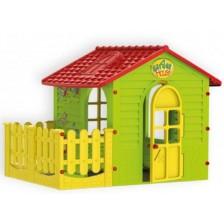 Детска къщичка Mochtoys - С ограда -1
