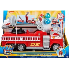 Детска играчка Spin Master Paw Patrol - Трансформиращата се пожарна, Маршал -1