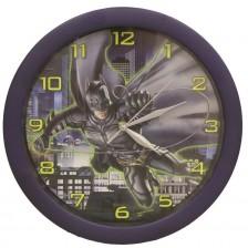 Детски стенен часовник Nickelodeon - Батман,  Ø 28cm -1