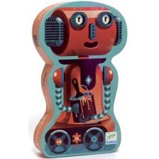 Детски пъзел Djeco - Робот, 36 части -1