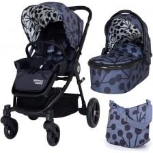 Детска комбинирана количка 2 в 1 Cosatto - Wowee, Lunaria -1