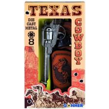 Детска играчка Gohner Wild West - Револвер с кобур -1