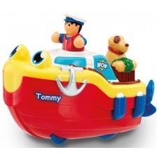 Детска играчка WOW Toys - Спасителна лодчица с кученце -1