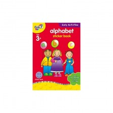 Детска книжка Galt Early Activities - Английска азбука -1